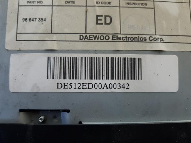 지파츠 자동차 중고부품 96647354 AV시스템,오디오