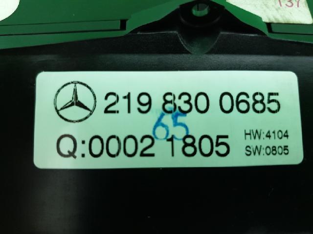 지파츠 자동차 중고부품 2198300685 히터에어컨컨트롤스위치