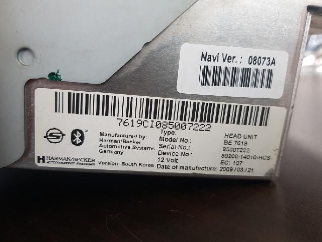 지파츠 자동차 중고부품 8920014010HCS AV시스템,오디오