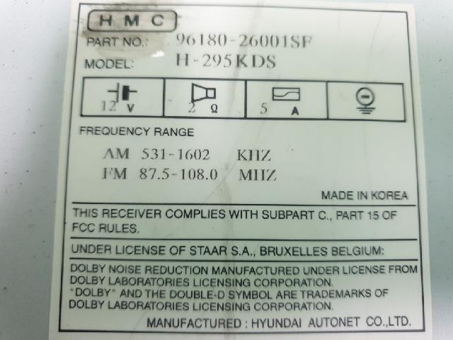 지파츠 자동차 중고부품 9618026001SF AV시스템,오디오