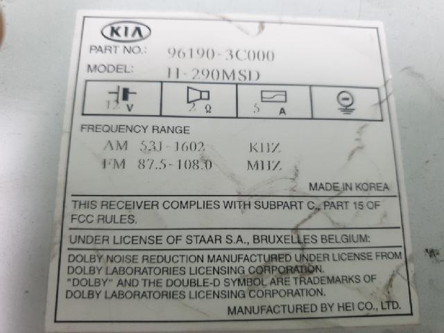 지파츠 자동차 중고부품 961903C000 AV시스템,오디오