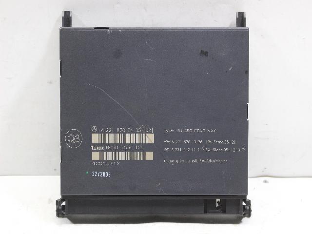 에코오토 자동차 중고부품 A2218705485 모듈(유닛)