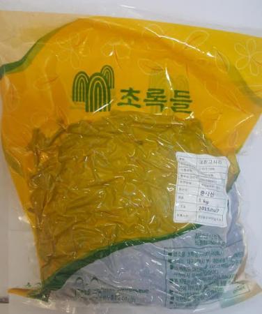 데친고사리(중국산)