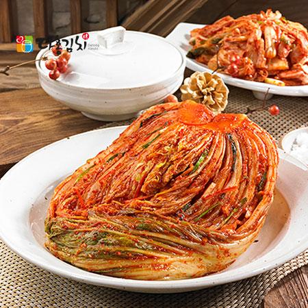 [원후푸드] 생 포기김치10kg(숙성아님)