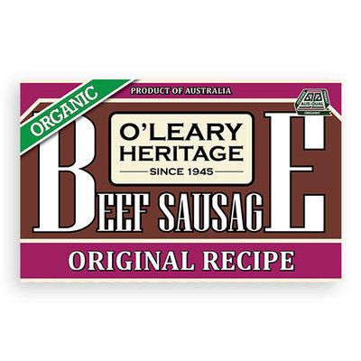 Beef Sausage Organic