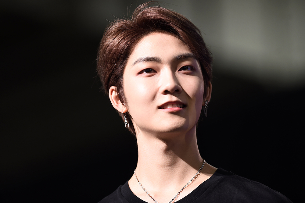 Kevin of THE BOYZ appearing in 2019 KCON New York (Photo Credit=Getty Image Korea)
