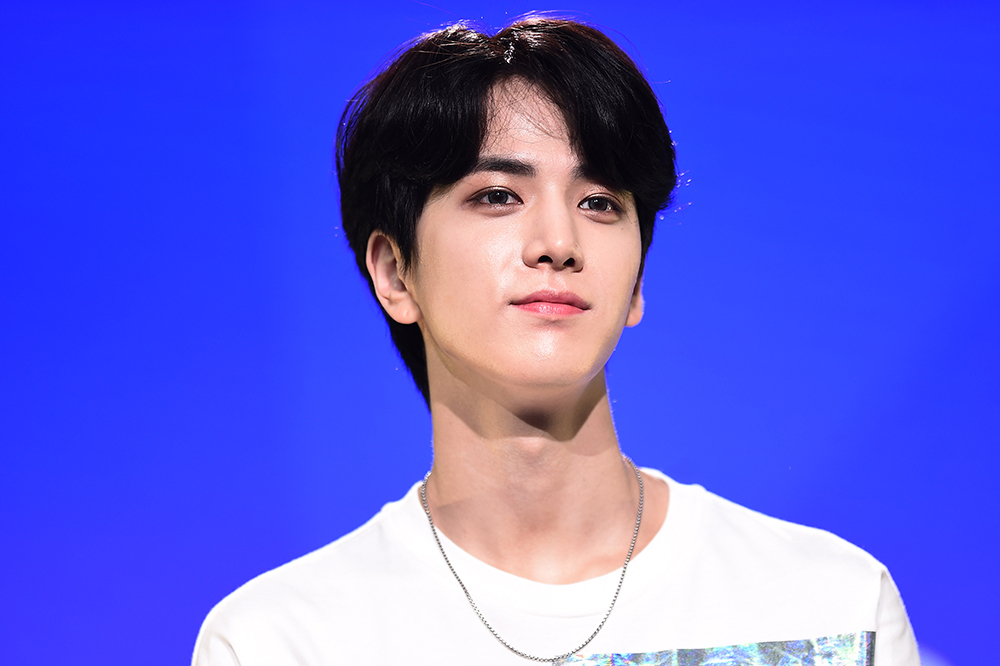 Younghoon of THE BOYZ appearing in 2019 KCON New York (Photo Credit=Getty Image Korea)