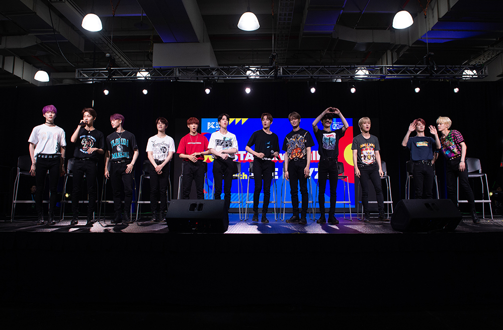 THE BOYZ appearing in 2019 KCON New York (Photo Credit=Getty Image Korea)