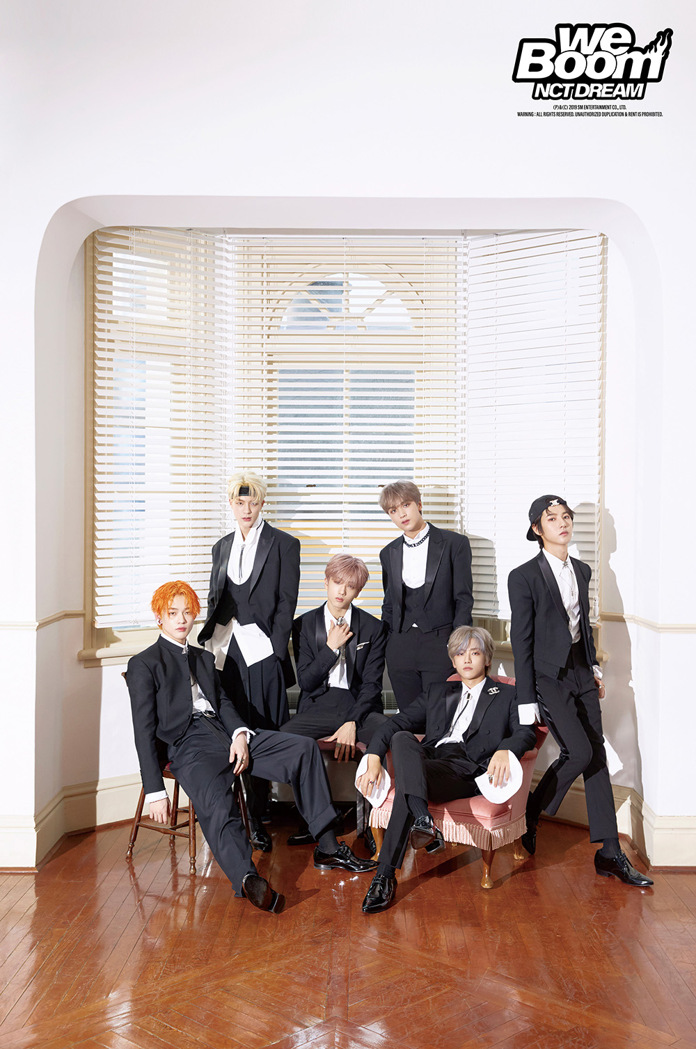 NCT DREAM who took 1st place in Hanteo Chart's Weekly Physical Chart of the 2nd week of August (Photo Credit=SM Entertainment)