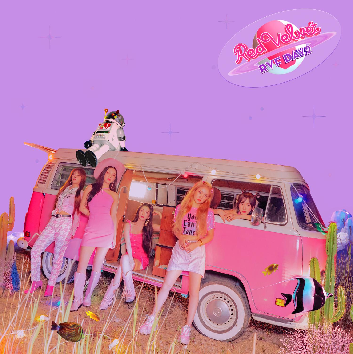 """Album cover art of Red Velvet's 7th Mini Album, """"The ReVe Festival"""""""