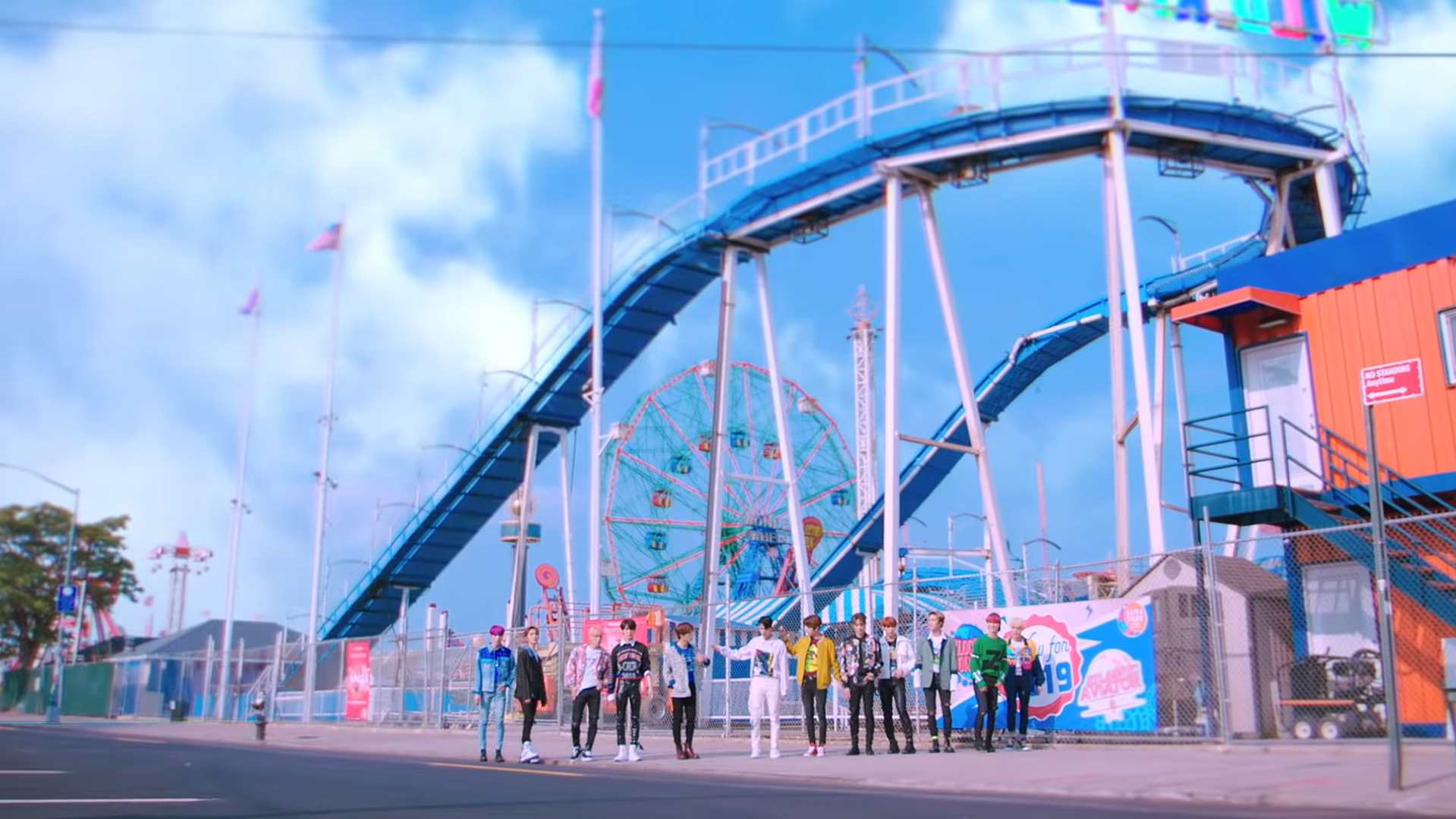 THE BOYZ, who took 1st place in Hanteo Chart's Daily Ranking of September 8th (Photo=screen capture from the official MV of THE BOYZ's 'D.D.D')
