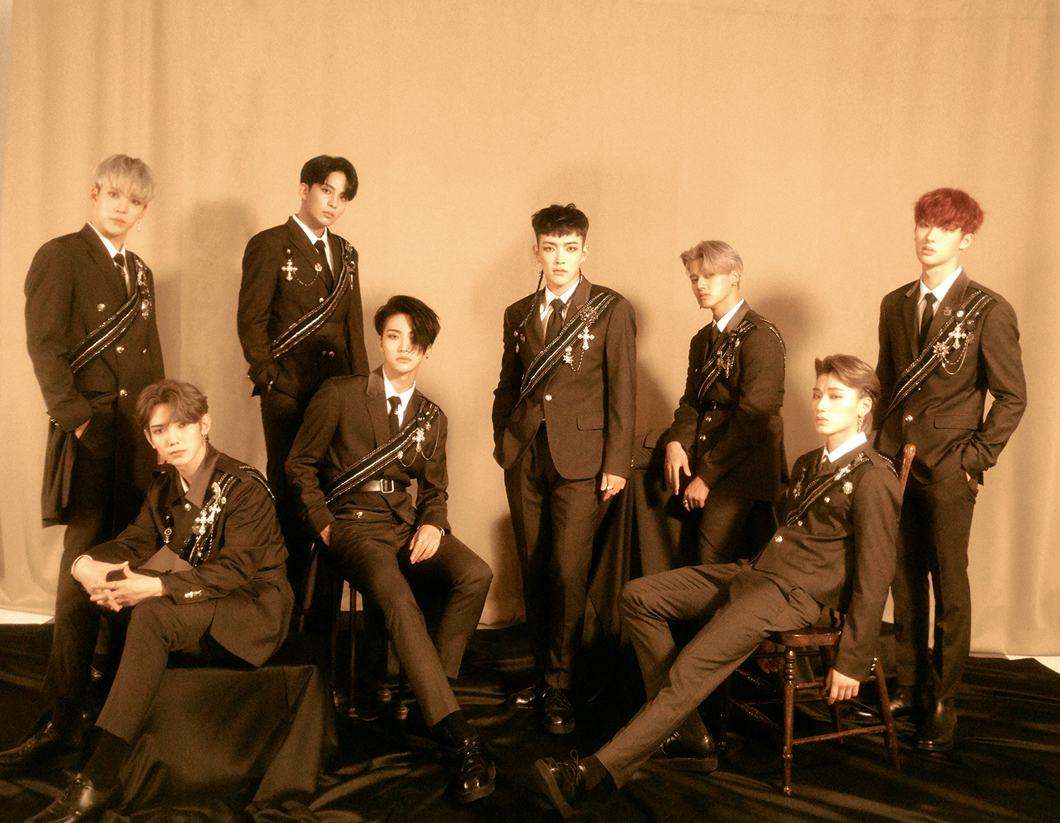 Group ATEEZ (Photo Credit=KQ Entertainment)