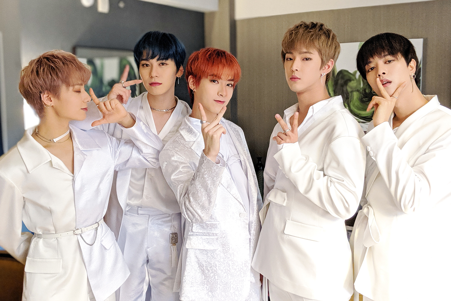 Group ONEUS (Photo=Joheun Lee)