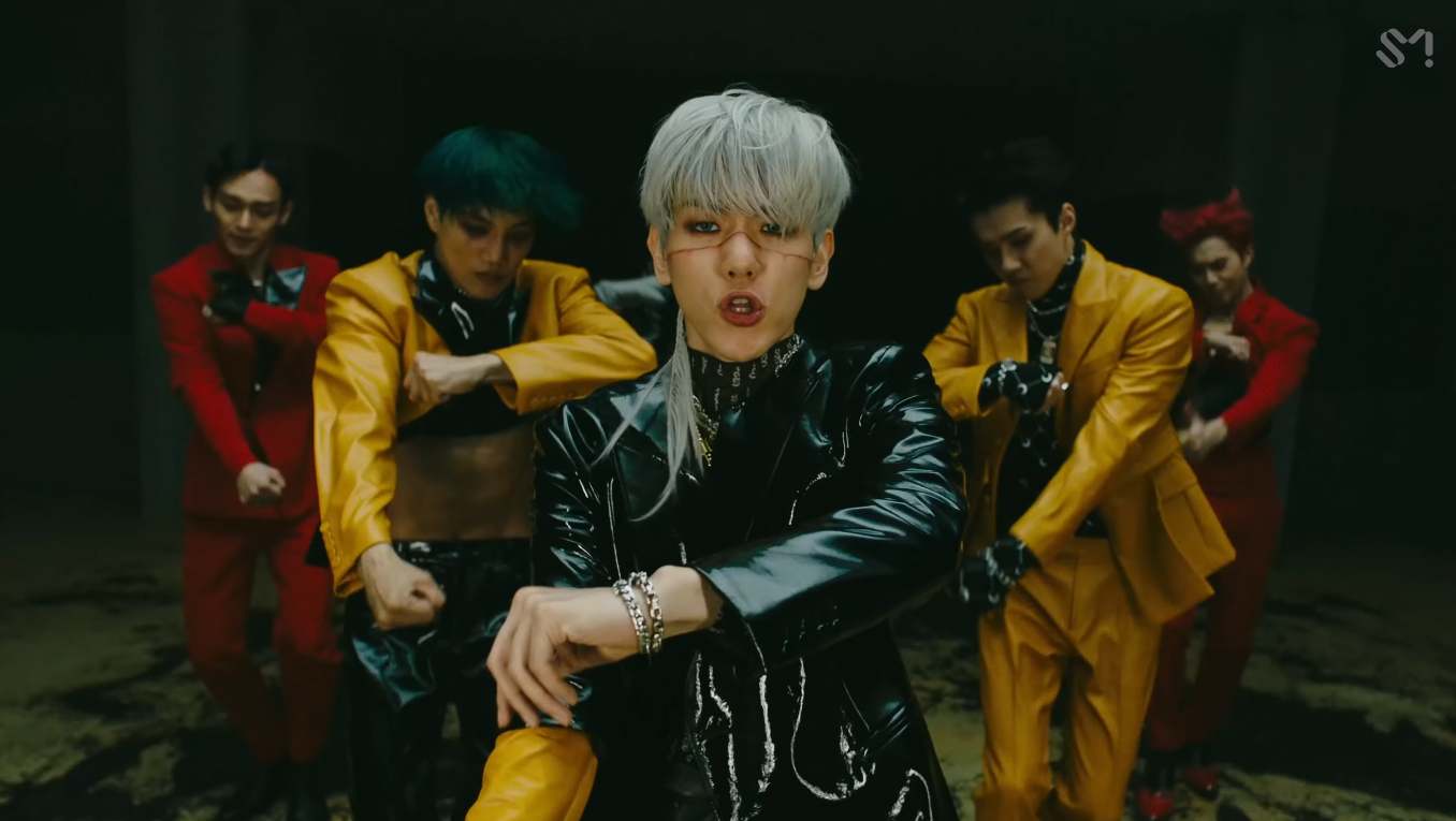 Group EXO (Photo=Screen capture of EXO's 'Obsession' official music video)