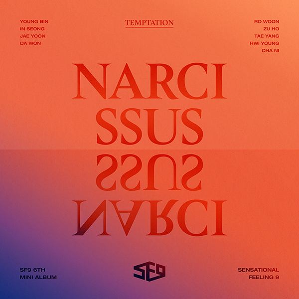 The cover artwork of SF9 - NARCISSUS