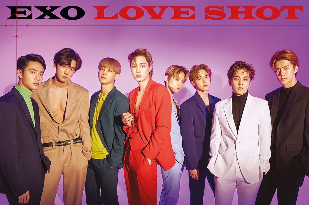 EXO 5th Studio Album Repackage LOVE SHOT teaser image (Photo Credit=SM Entertainment)