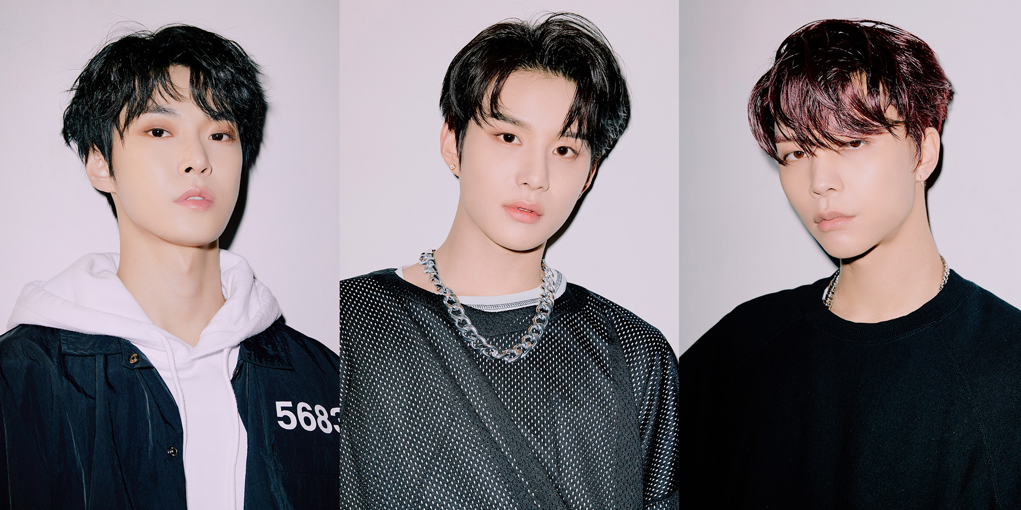 NCT 127 - 2nd Studio Repackage Album NCT #127 Neo Zone: The Final Round teaser image (Doyoung, Jungwoo, Johnny, from left) (Photo Credit=SM Entertainment)