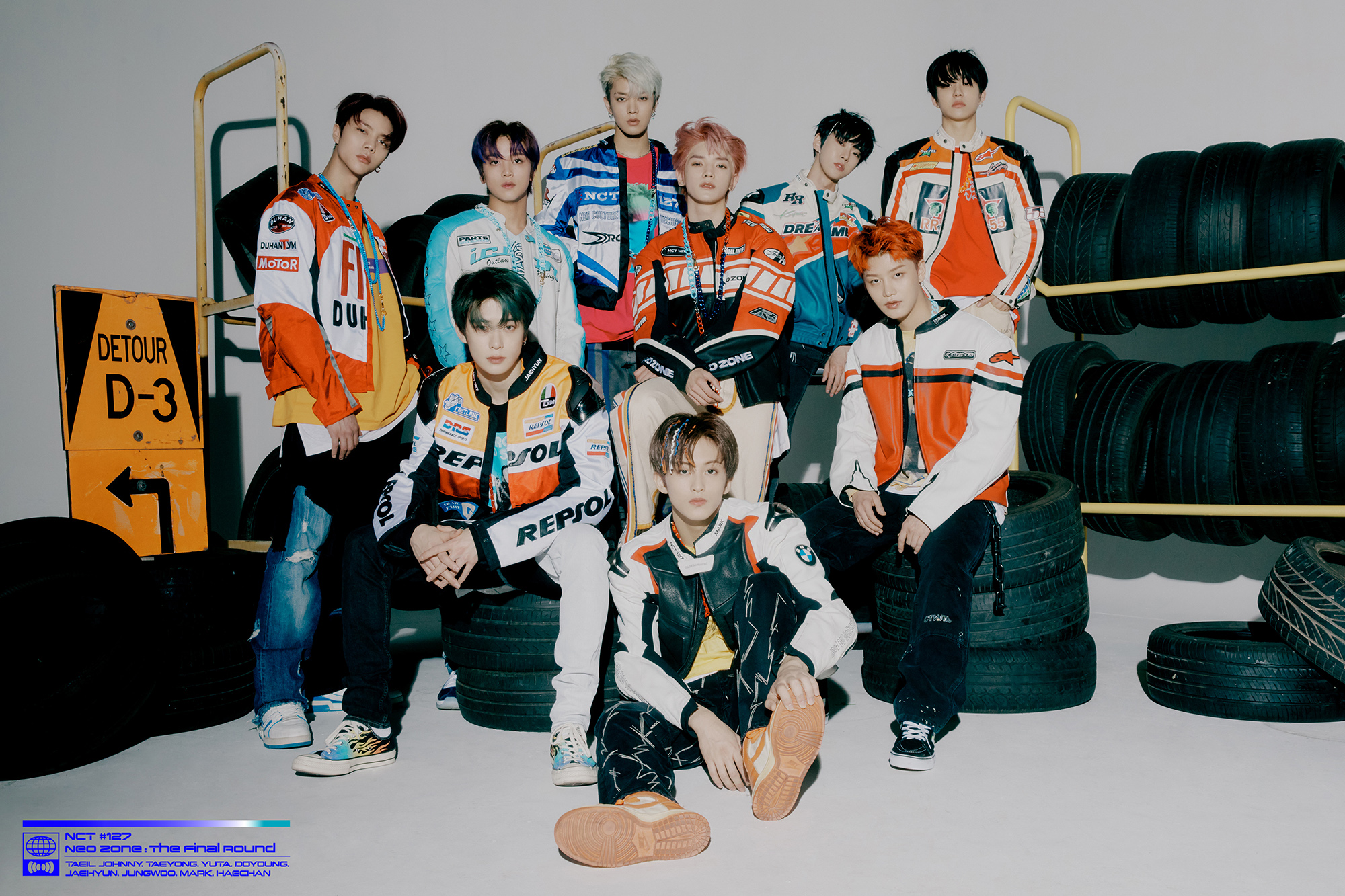 NCT 127 - 2nd Studio Repackage Album NCT #127 Neo Zone: The Final Round group teaser image (Photo Credit=SM Entertainment)