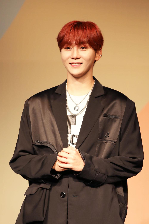 Member Seungkwan of SEVENTEEN (Photo Credit=Sena Sim)