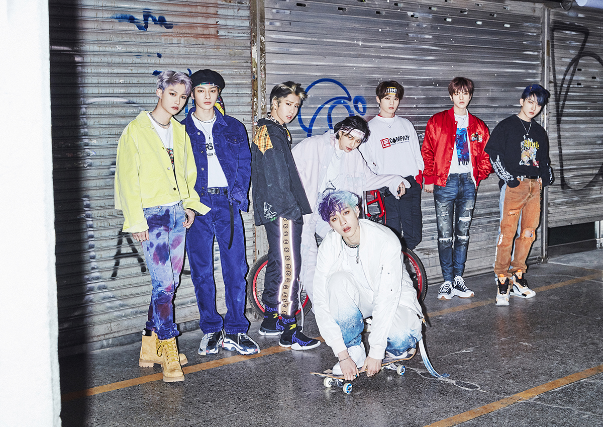 Stray Kids GO LIVE (GO生) group concept photo (Photo Credit=Stray Kids Official Homepage)