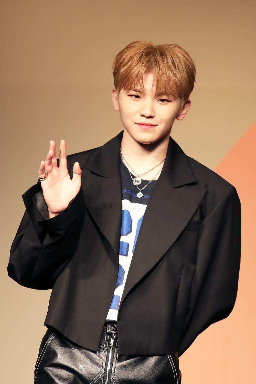 Member Woozi of SEVENTEEN (Photo Credit=Sena Sim)