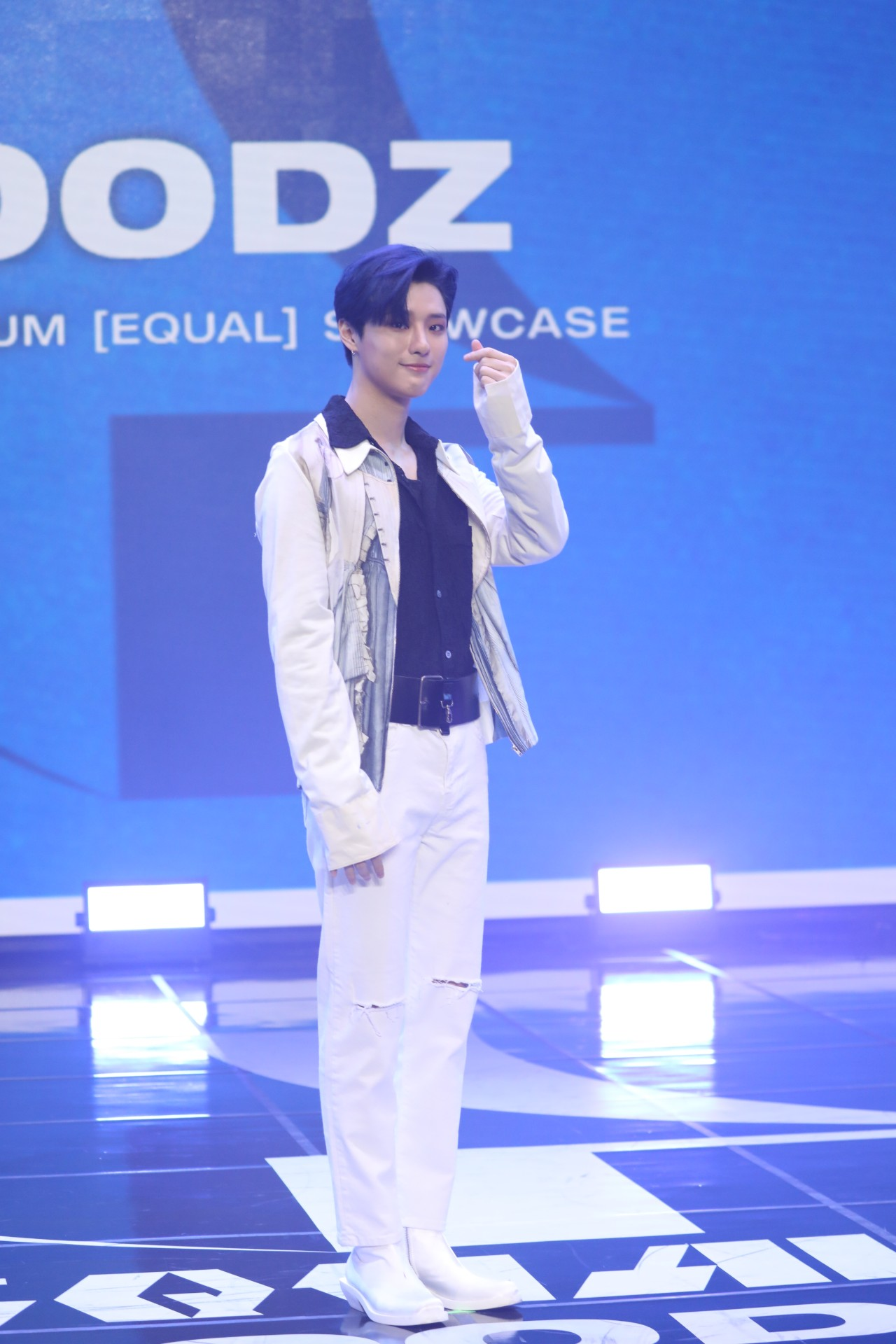 WOODZ (Cho Seungyoun), who held an online media showcase marking the album release of EQUAL at 4:30 PM on the 29th (Photo Credit=Yuehua Entertainment)