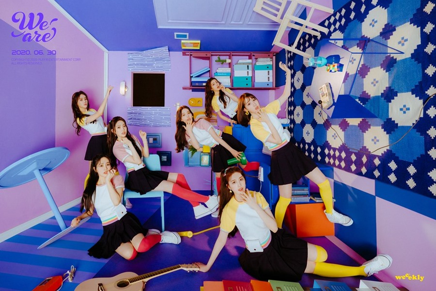 Weeekly - 1st Mini Album We are group concept photo (Photo Credit=Play M Entertainment)