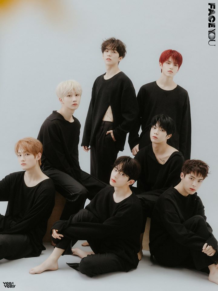 Group VERIVERY - 4th Mini Album FACE YOU group concept photo (Photo Credit=Jellyfish Entertainment)