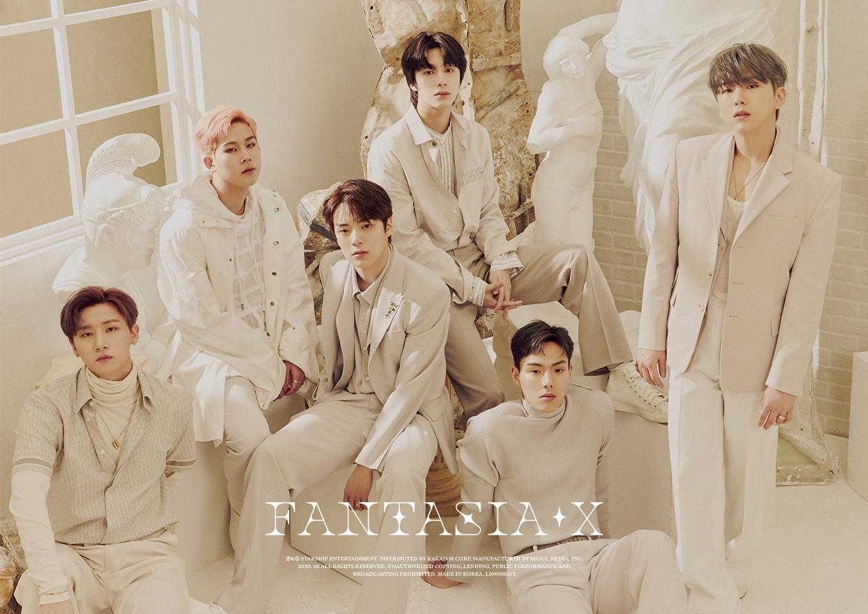 MONSTA X - 8th Mini Album FANTASIA X group concept photo (Photo Credit=Starship Entertainment)