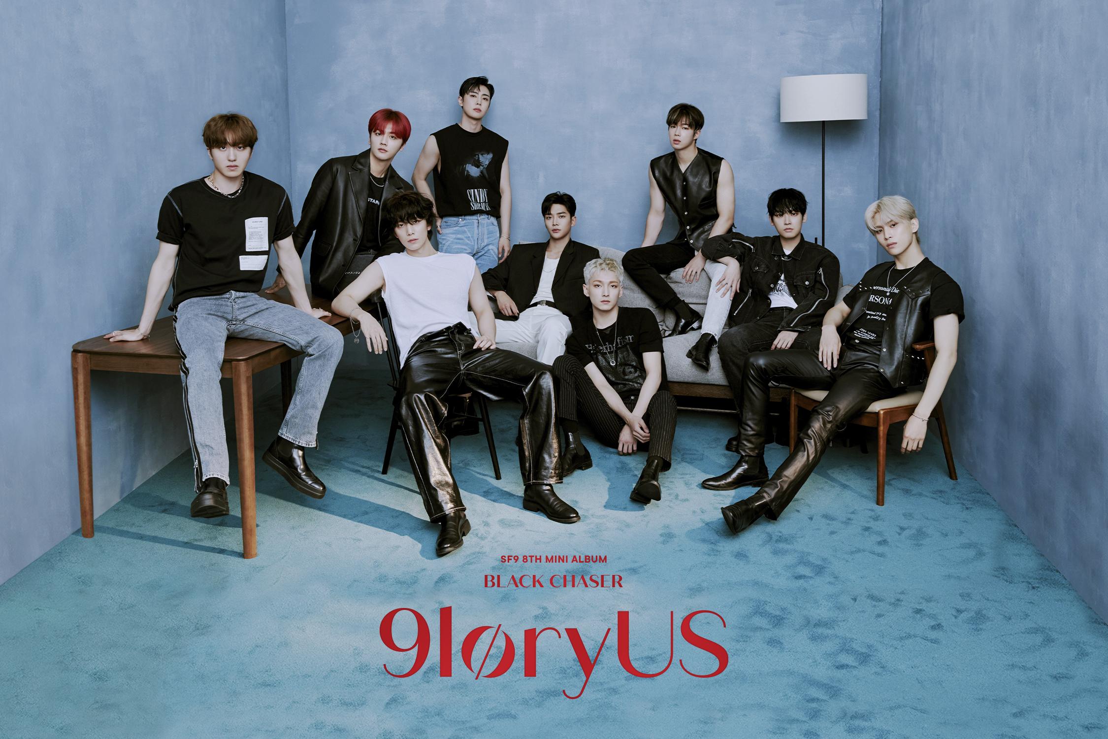 SF9 - 8th Mini Album 9loryUS group concept photo (Photo Credit=FNC Entertainment)