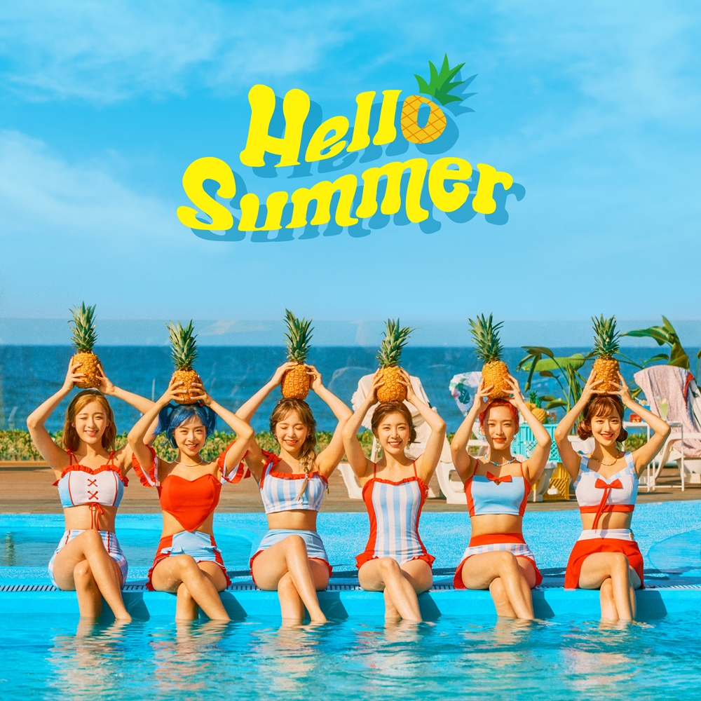 APRIL - Summer Special Single Hello Summer group concept photo (Photo Credit=DSP Media)