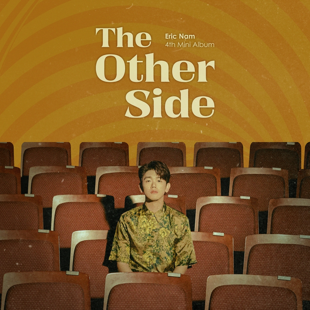 Eric Nam - 4th Mini Album The Other Side cover artwork (Photo Credit=Stone Music Entertainment)