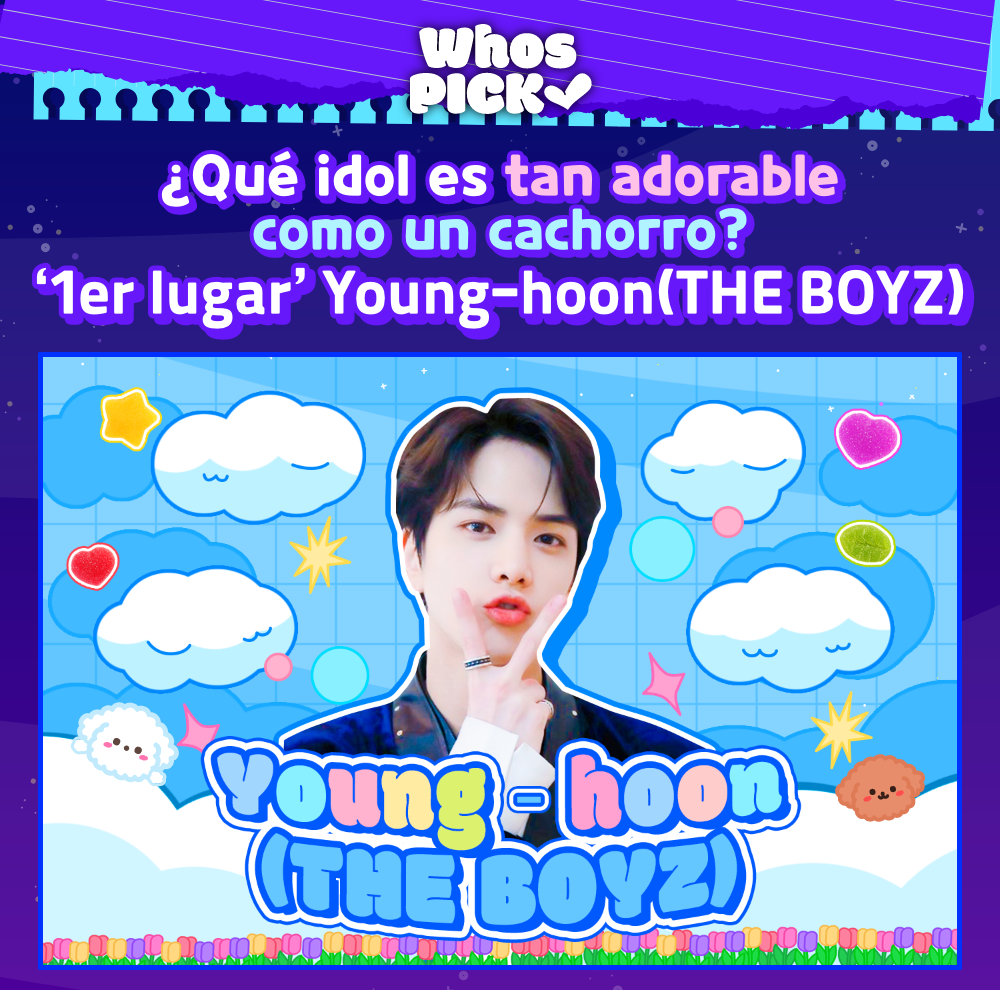 Younghoon - pop-up ad image, the reward for the 1st place, that will be shown on the Whosfan app for a week