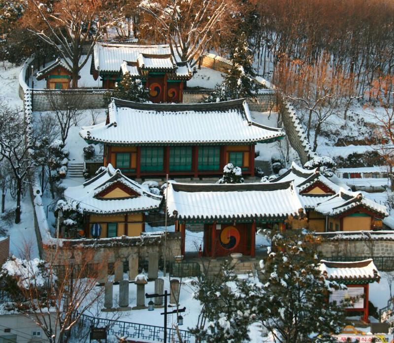 양천향교 겨울