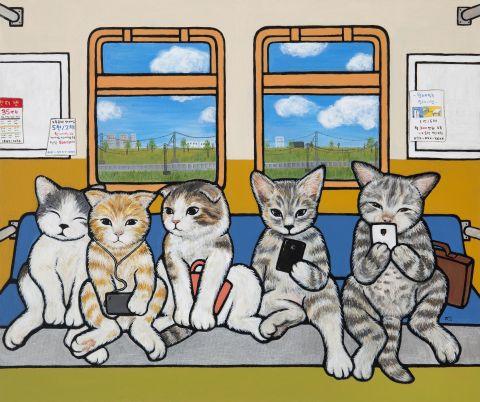 출근길(지하철)