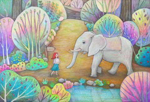 바다로 가고 싶은 코끼리 1