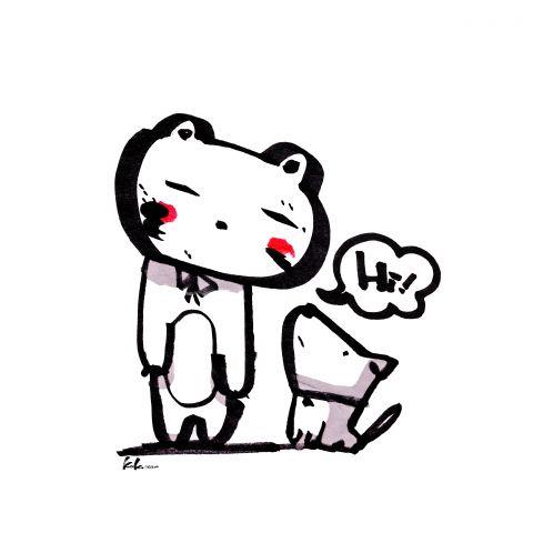 Hi! by koko sketch