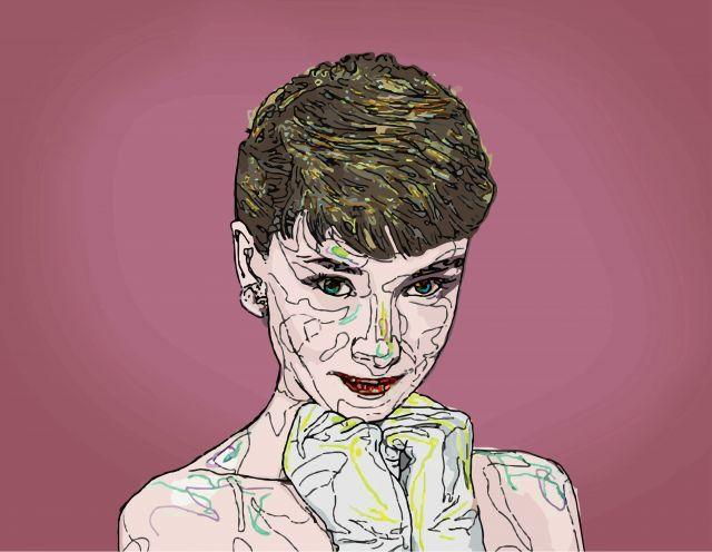 Audrey Hepburn by 강동인