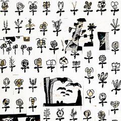 꽃 패턴1