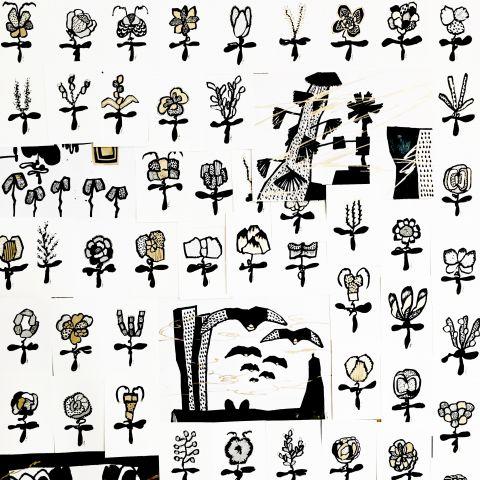 꽃 패턴1 by compiler