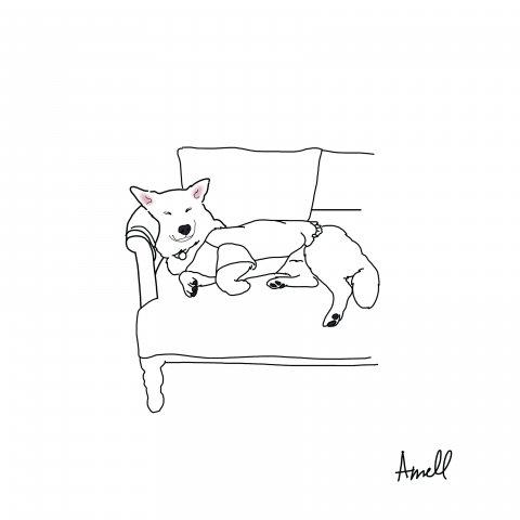 나른한 오후 by 아멜