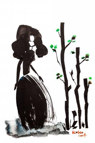 나무와 여자 05