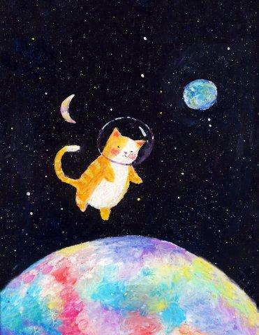 고양이별 고양이 고양이씨 by FacyHosi