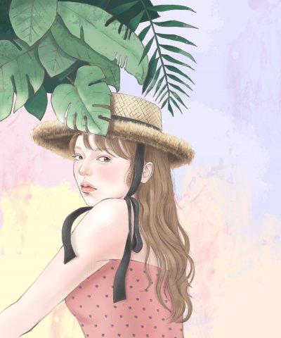 봄 그리고 여름 사이 by 리니