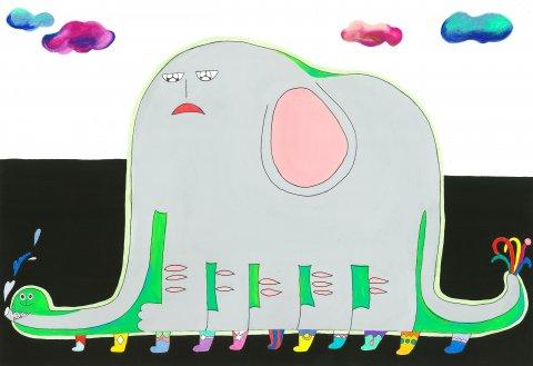 코끼리를먹은보아뱀 by jjurrr