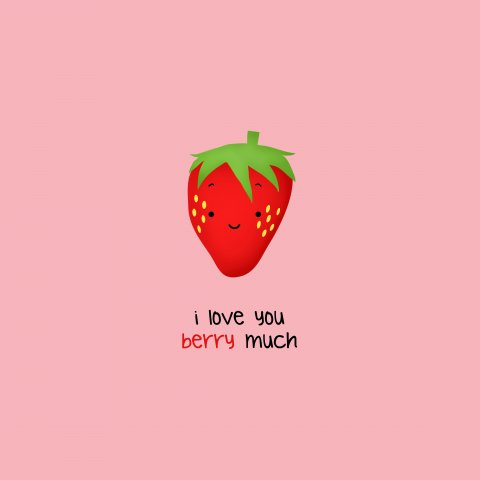 Strawberry Pun by raenxia