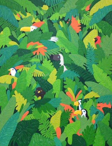 Birds and Dodo by Dodoseeker