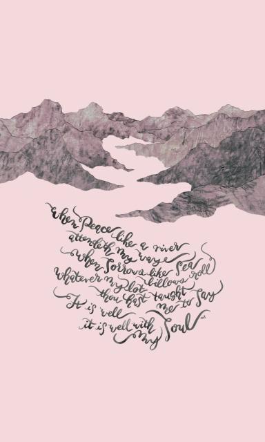 It Is Well With My Soul - 폰케이스 by joyfultaylor