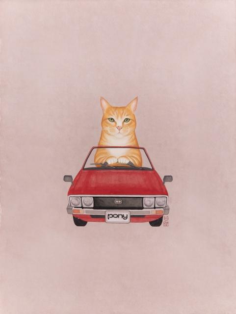 묘차도 - 현대자동차 포니 1975 by 유레아