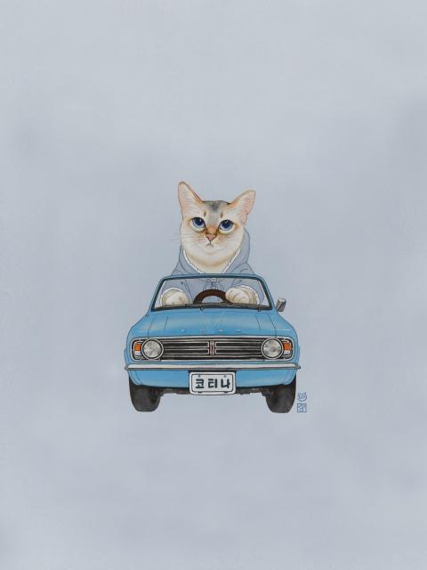 묘차도 - 현대자동차 코티나 1968 by 유레아